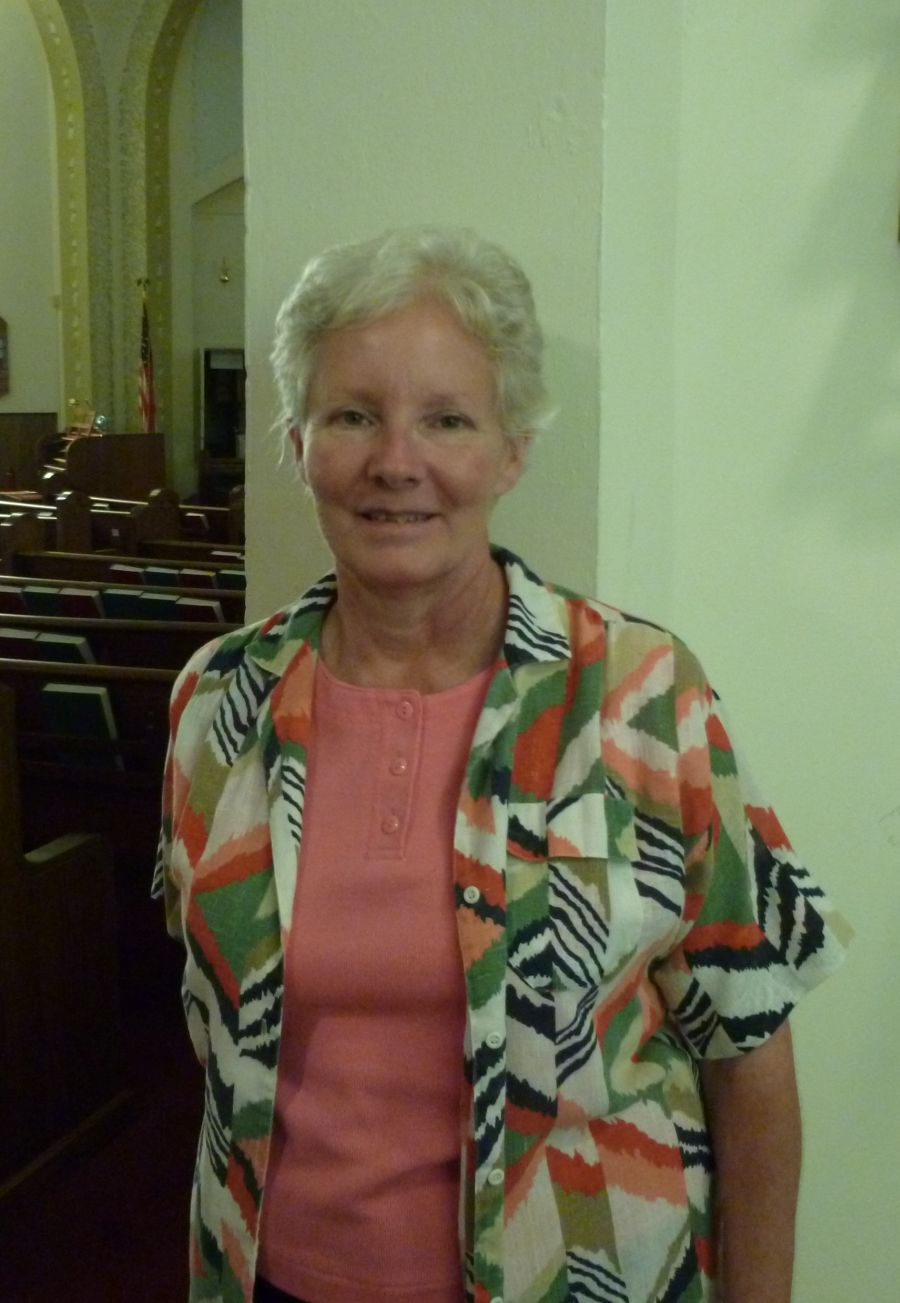 Missionary Kathleen Lutz, 11 August 2013.