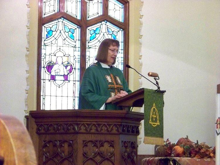 Pastor Karen Tamorria, 23 Sep 2012.