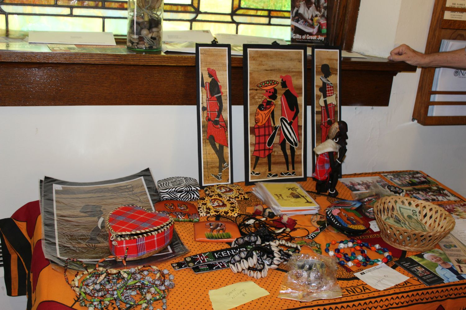 Items from Kenya.