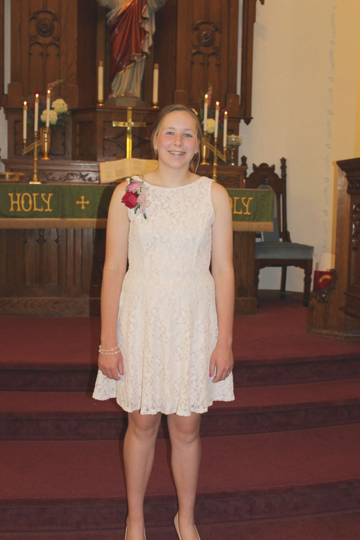 Sophia Miller Confirmation, 29 May 2016.