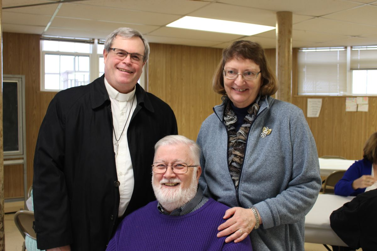 Rev. William Maki, Rev. Mike Tamorria, Rev. Karen Tamorria. 3 Jan 2016
