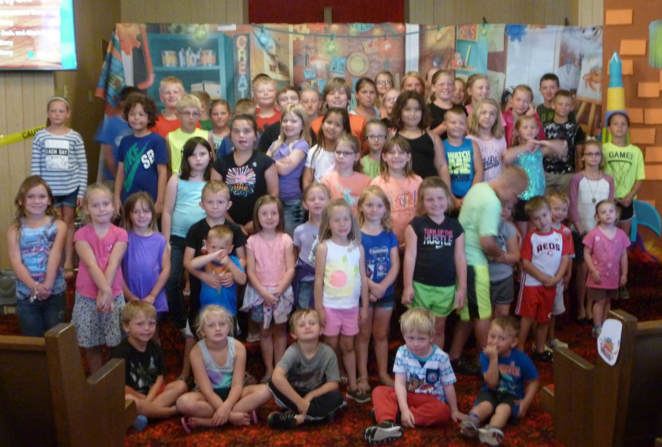 Over 60 kids attended Maker Fun Factory Vacation Bible School!!