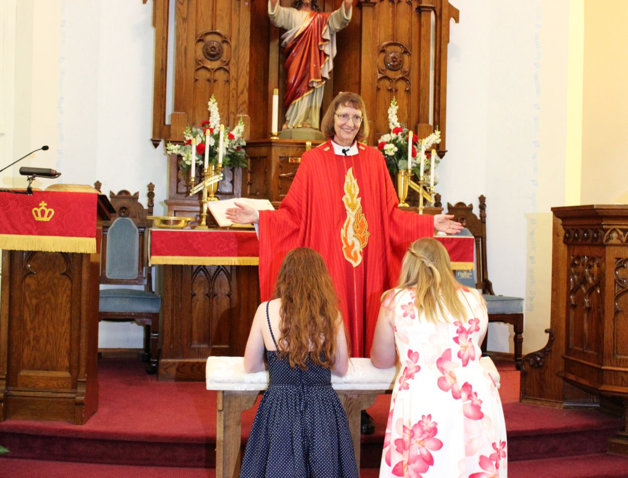 Remi & Lydia, Confirmation 28 May 2017