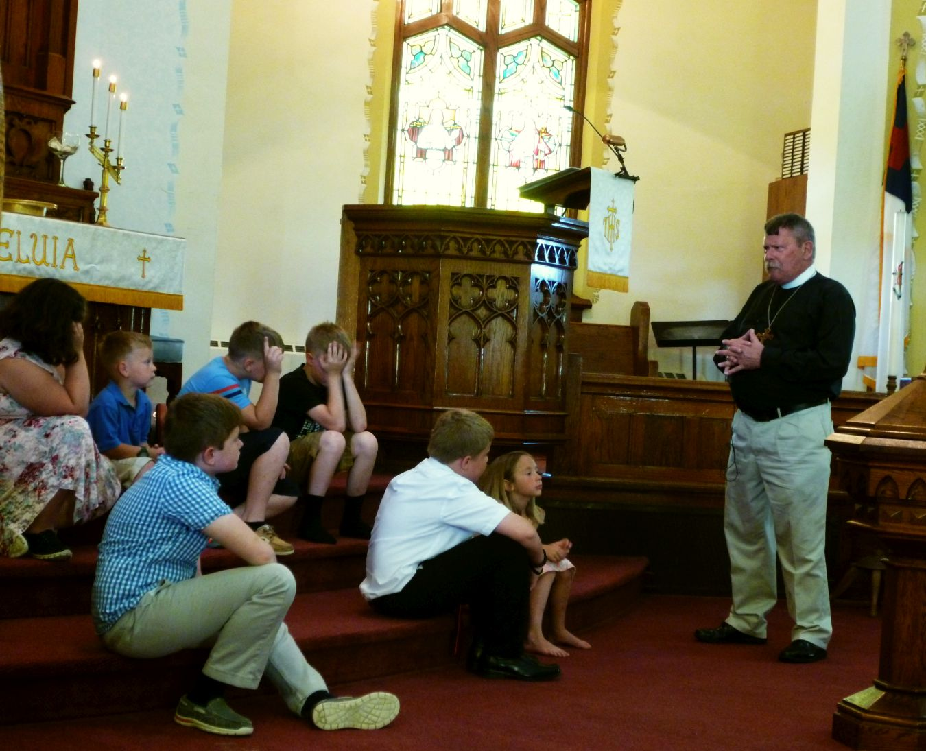 Children's Moment with Rev. Don Bachman, May 2018.