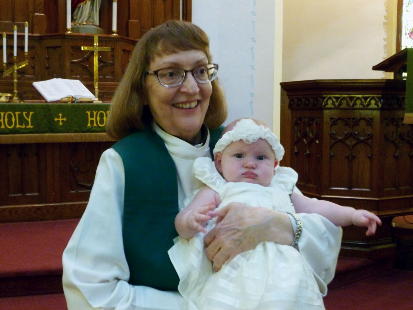 Pastor Karen and Willow Faye, 12 Aug 2018.