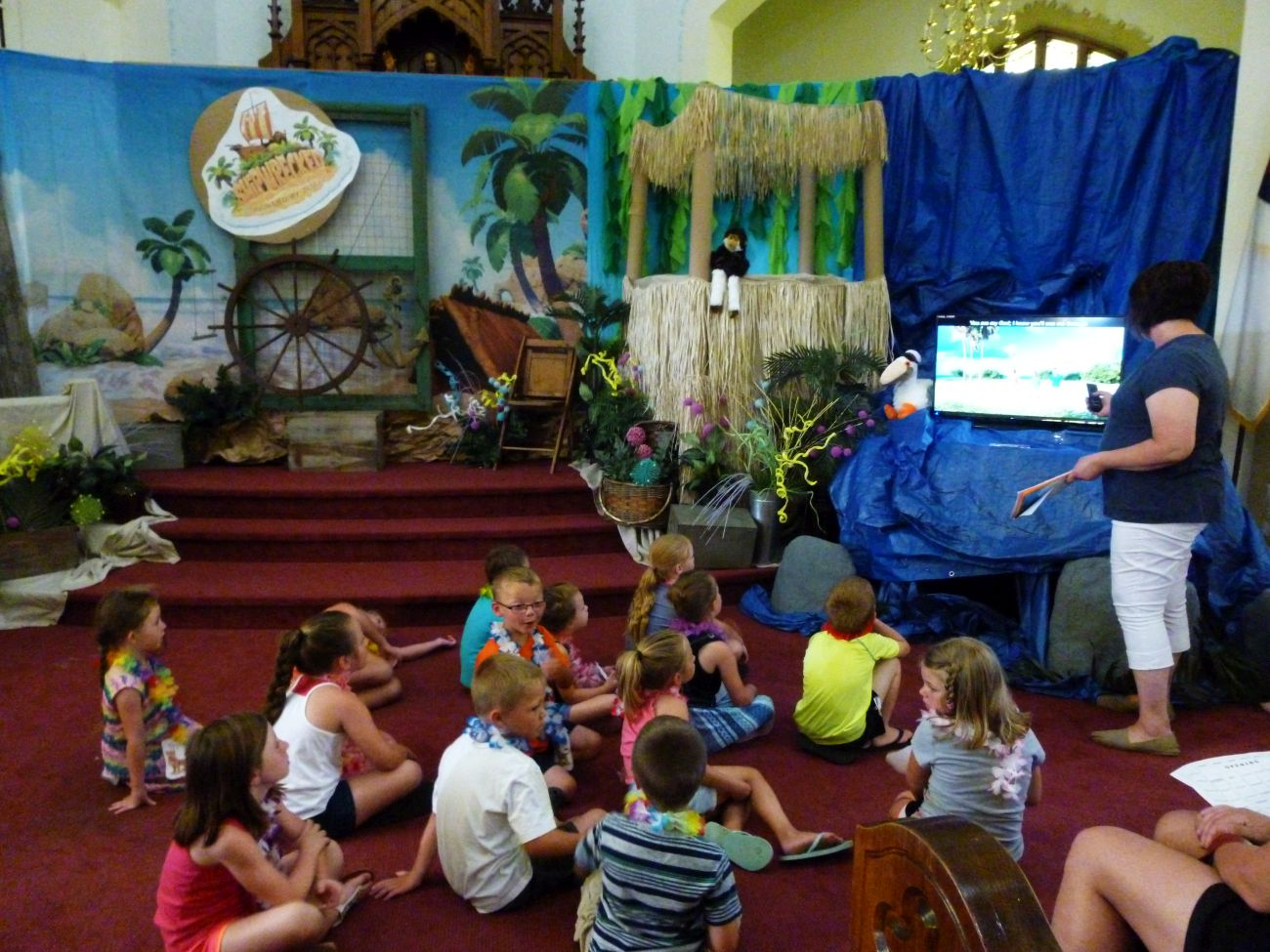 Shipwrecked, 2018 VBS