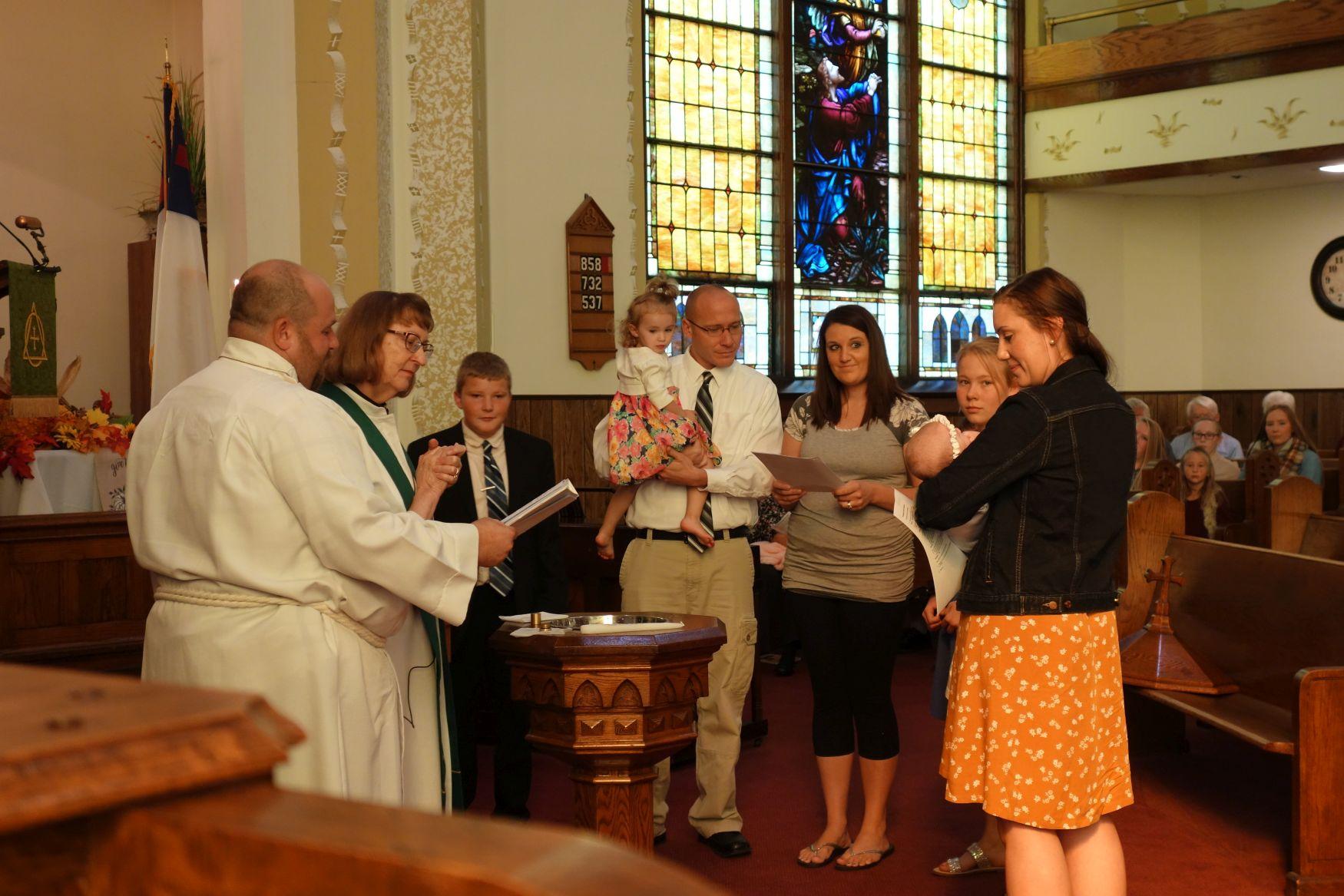 Baptism, 13 October 2019