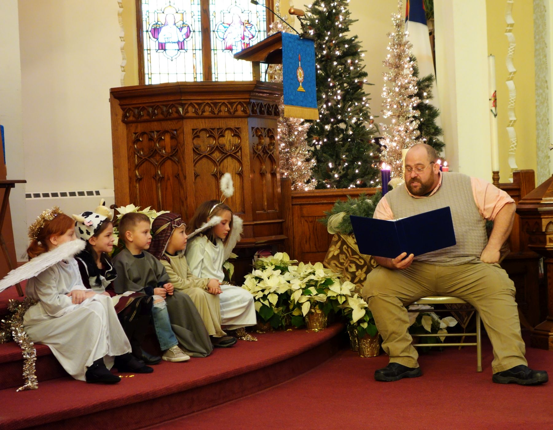 Sunday School Christmas Program, 2019.
